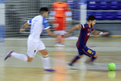 Adolfo Fernandez of FC Barcelona during the LNFS match between FC Barcelona and Pescados Ruben Burela at Palau Blaugrana  in Barcelona, Spain.(Credit: Gerard Franco)